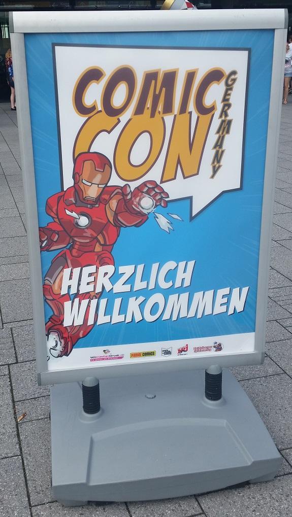 ComicCon_Beginn